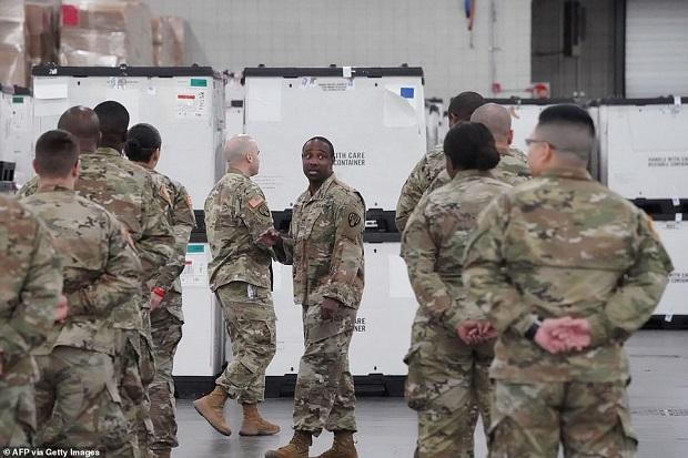قوات الحرس الوطنى ومساعدات