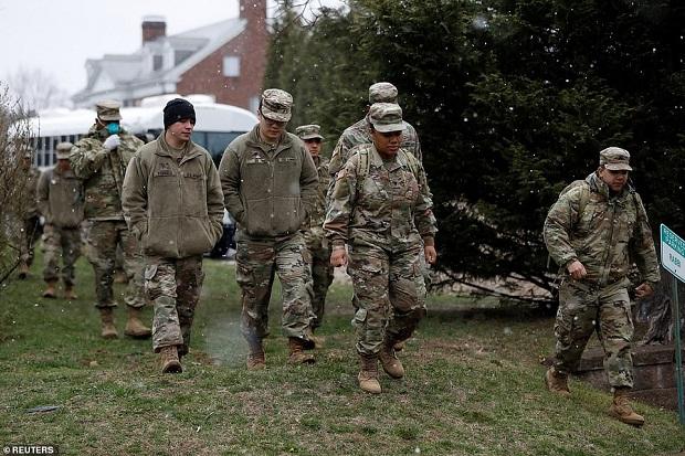 قوات الحرس الوطنى الأمريكى