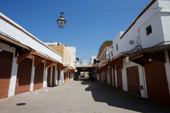 المحال التجارية بالمغرب مغلقة تماما