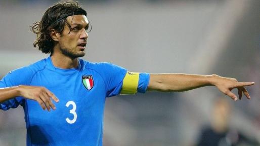 مالدينى بقميص منتخب ايطاليا