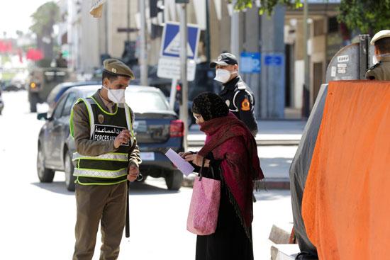 الامن المغربى يفرض حالة الطوارئ
