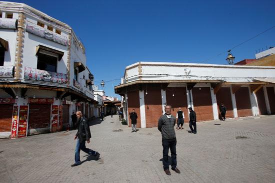 اغلاق المحال التجارية بالمغرب