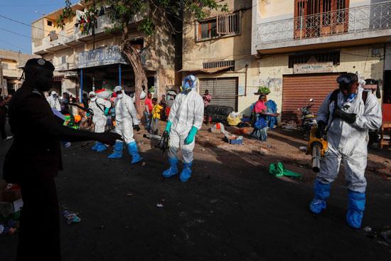حملات تطهير  شوارع السنغال