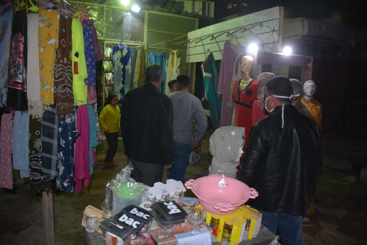 حملة ليلية لمحافظ القليوبية على المقاهي والمحلات