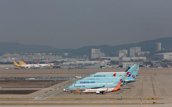 طائرات-تابعة-لشركة-الطيران-الكورية-الجنوبية