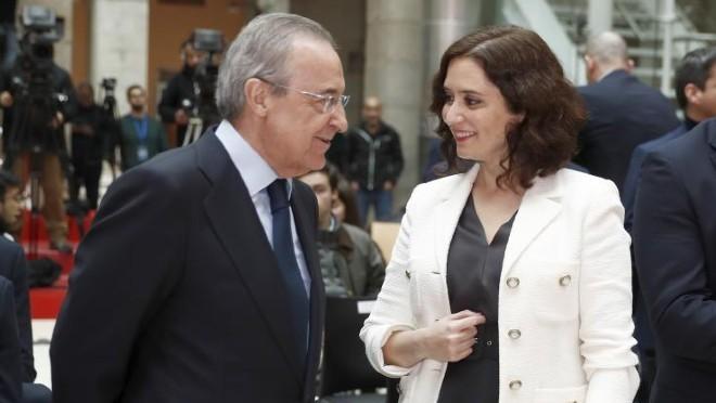رئيس ريال مدريد
