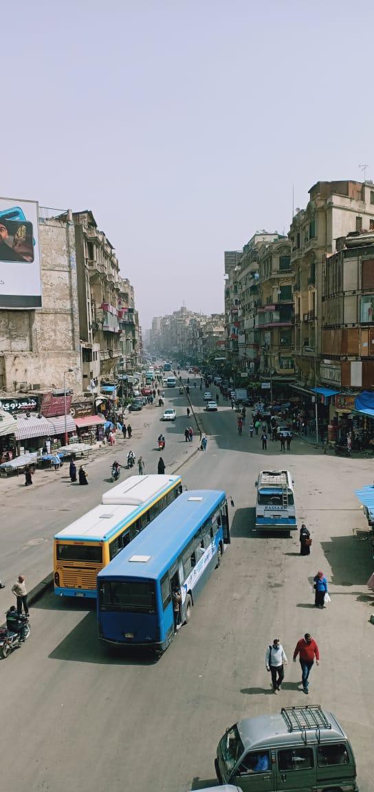 تطهير منطقتى الموسكى والعتبة بالقاهرة لمواجهة كورونا (6)