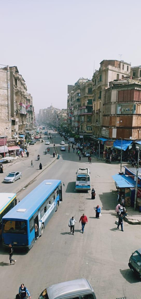 تطهير منطقتى الموسكى والعتبة بالقاهرة لمواجهة كورونا (7)