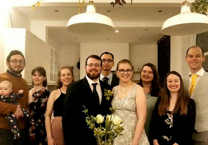 لقطات من الزفاف
