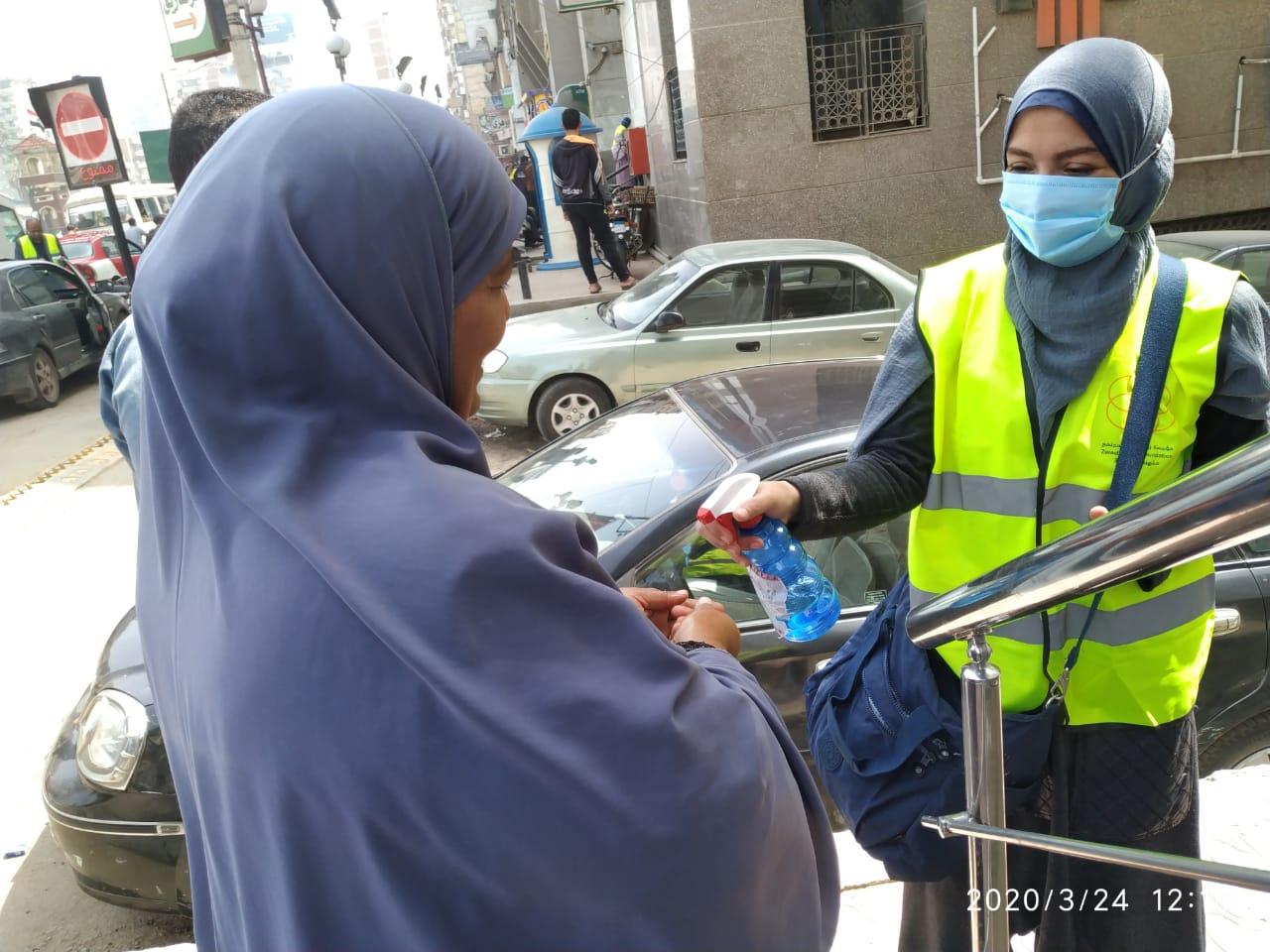 توعية المواطنين بفيروس كورونا بالشرقية (3)