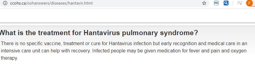 هل يوجد لقاح لفيروس هانتا
