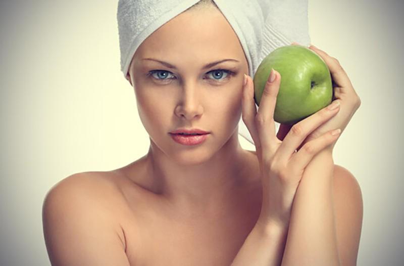 وصفات التفاح للبشرة  (2)