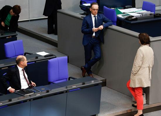 اعضاء البرلمان الالمانى