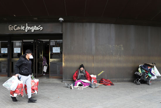 مواطنون فى برشلونة