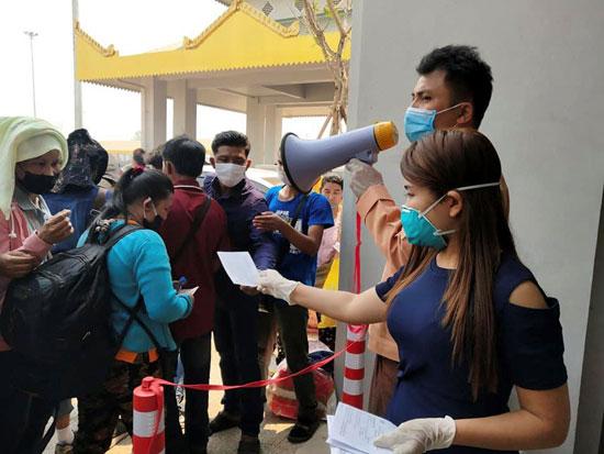 مهاجرون من تايلاند يقصدون ميانمار