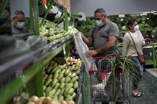 شراء الخضروات
