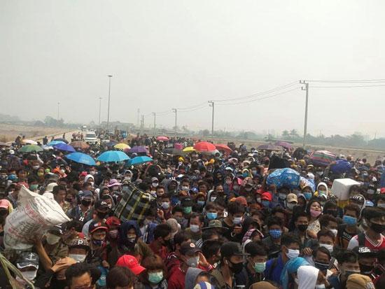 مهاجرون قادمون من تايلاند