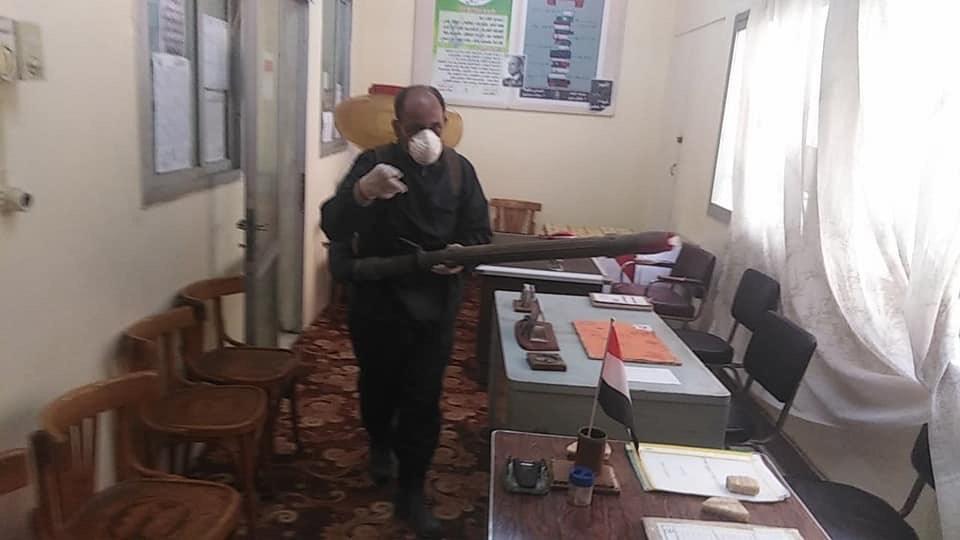 حملة تعقيم وتطهير بديوان عام مديرية التربية والتعليم بشمال سيناء (3)