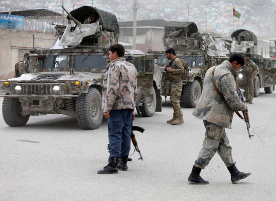 تعزيزات أمنية لموقع الانفجار