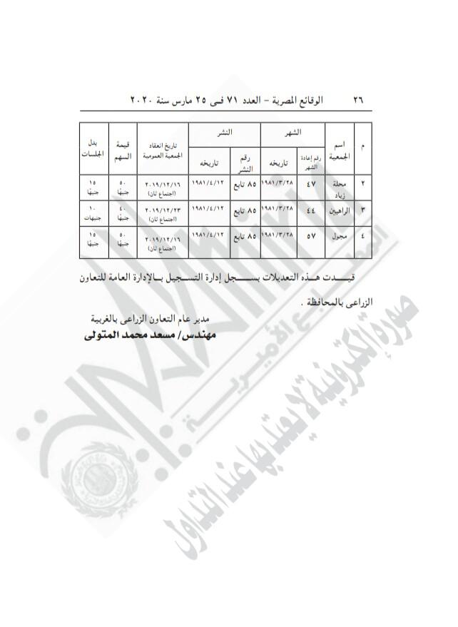قرار الجريدة الرسمية (1)