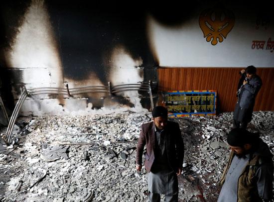 الانفجار بأفغانستان