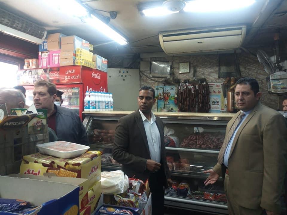 حملات لنائب محافظ القاهرة لمتابعة أسعار السلع  (5)