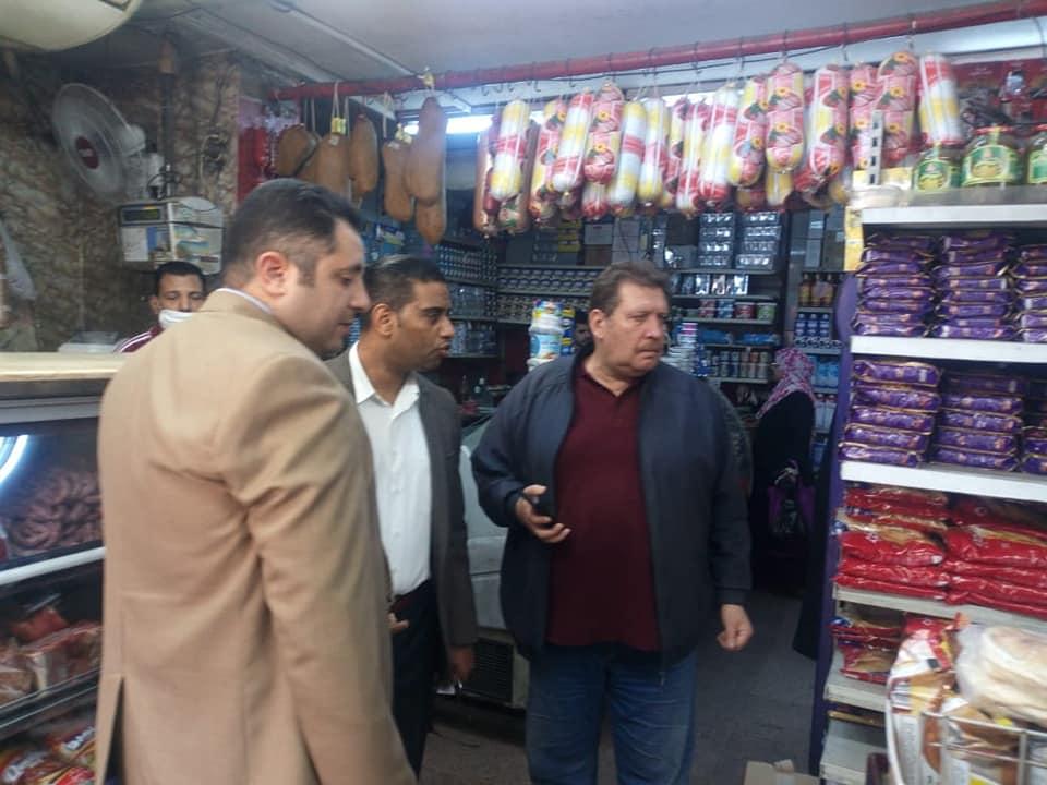حملات لنائب محافظ القاهرة لمتابعة أسعار السلع  (2)