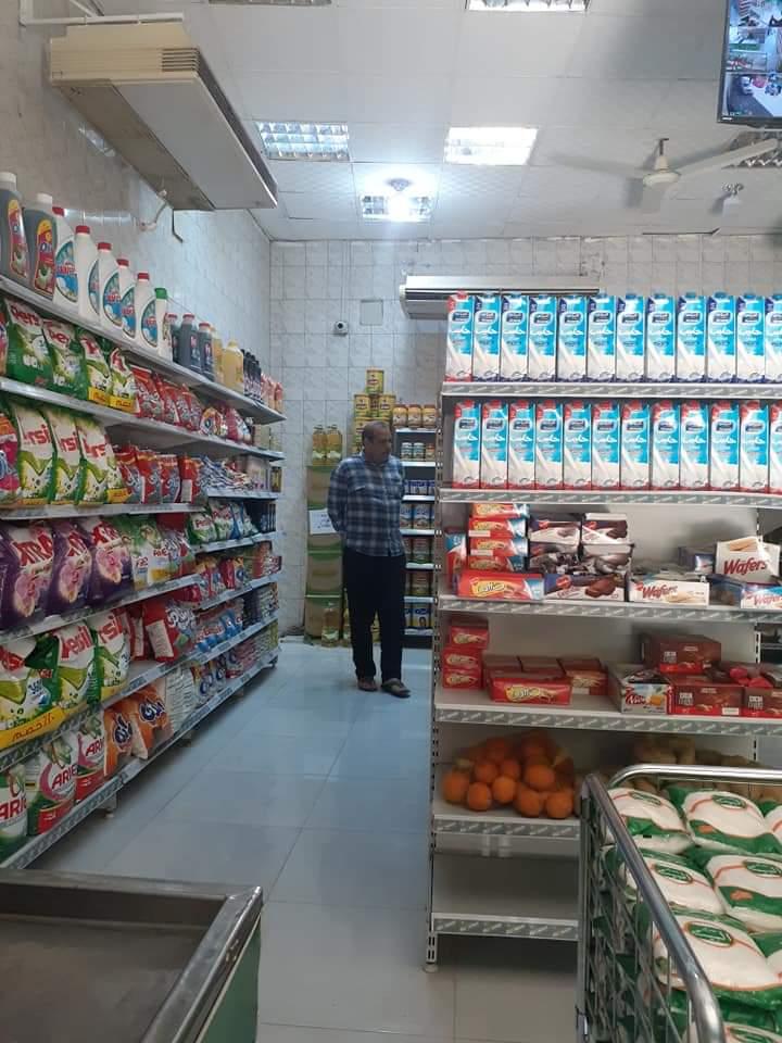 شاهد توافر السلع الغذائية والمنتجات داخل فروع الشركة المصرية بالأقصر