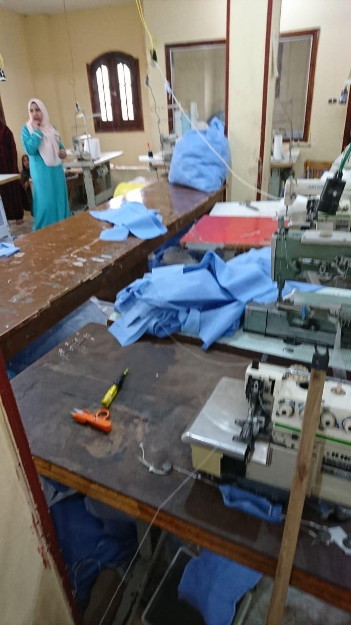 ضبط مصنع كمامات بالشرقية (3)