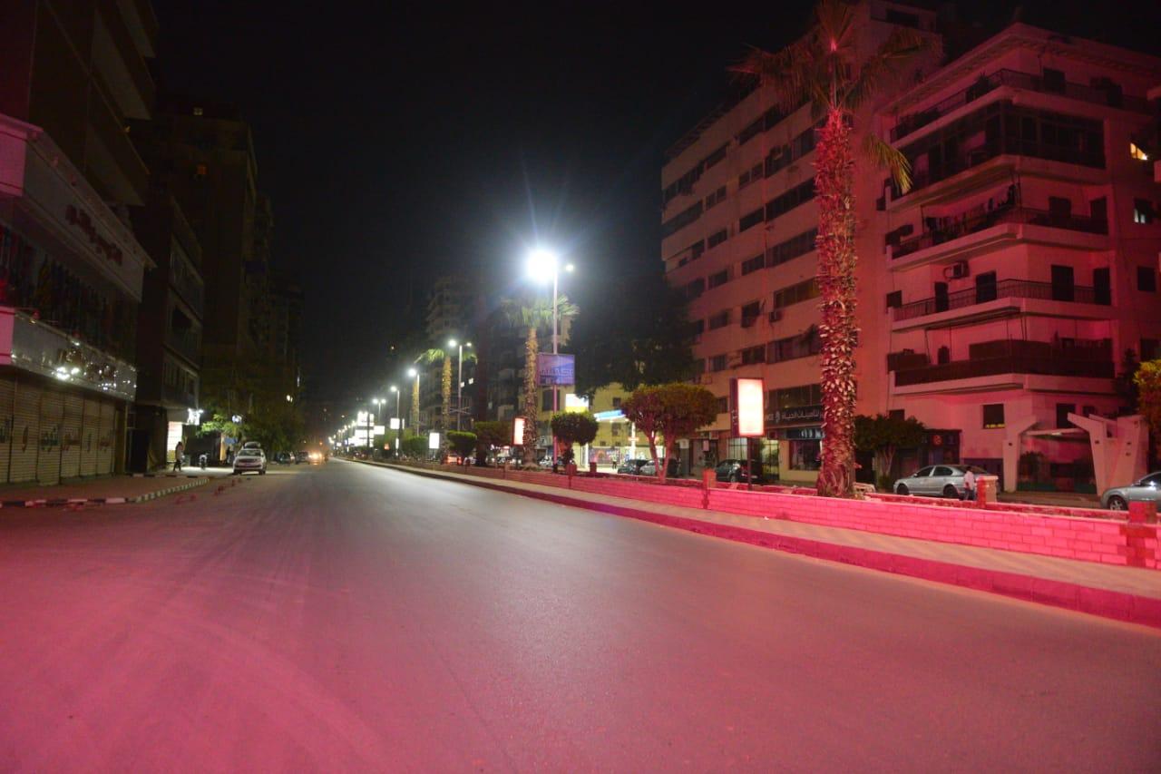 حظر التجوال فى وسط القاهرة