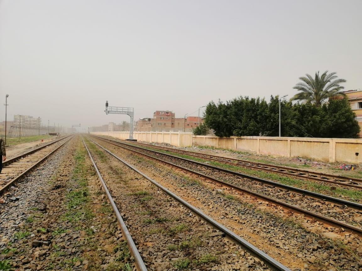 دخول برج كفر الدوار الخدمة بمشروع تحديث إشارات خط سكك حديد القاهرة - الإسكندرية (4)