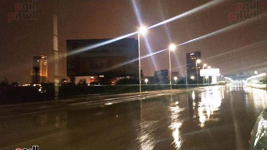 سقوط-الأمطار-أعلى-كوبرى-أكتوبر