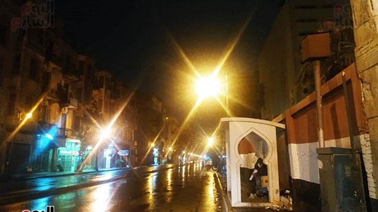 أمطار-فى-شوارع--القاهرة