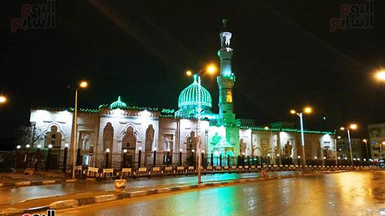 أمطار-فى-منطقة-السيدة-زينب-بالقاهرة