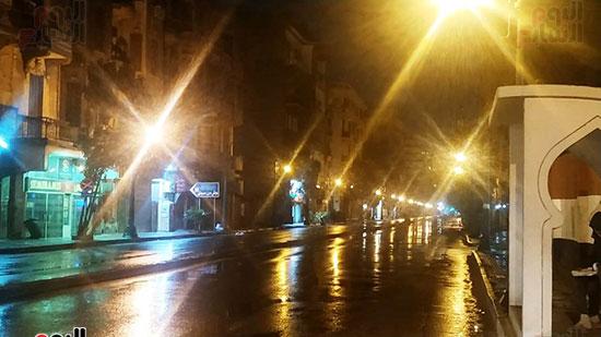 أمطار-فى-شارع-قصر-العينى-بالقاهرة