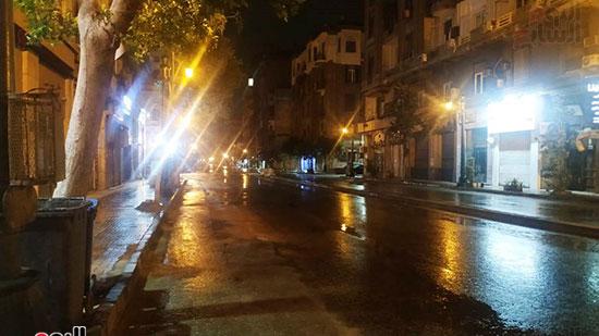 سقوط-أمطار-فى-شوارع-القاهرة