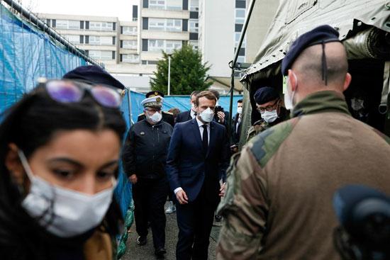 كورونا يثير الهلع فى فرنسا