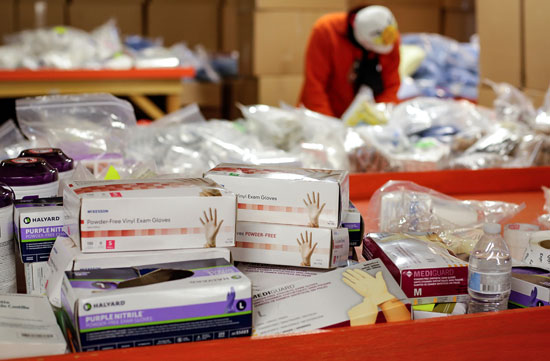 عدد من الأدوية التى تم تجهيزها للمواطنين