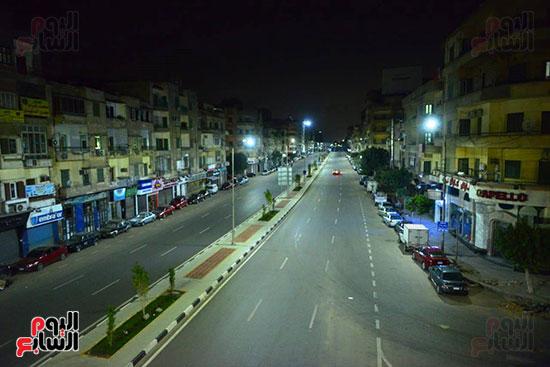 حظر-التجول-فى-شوارع-القاهرة
