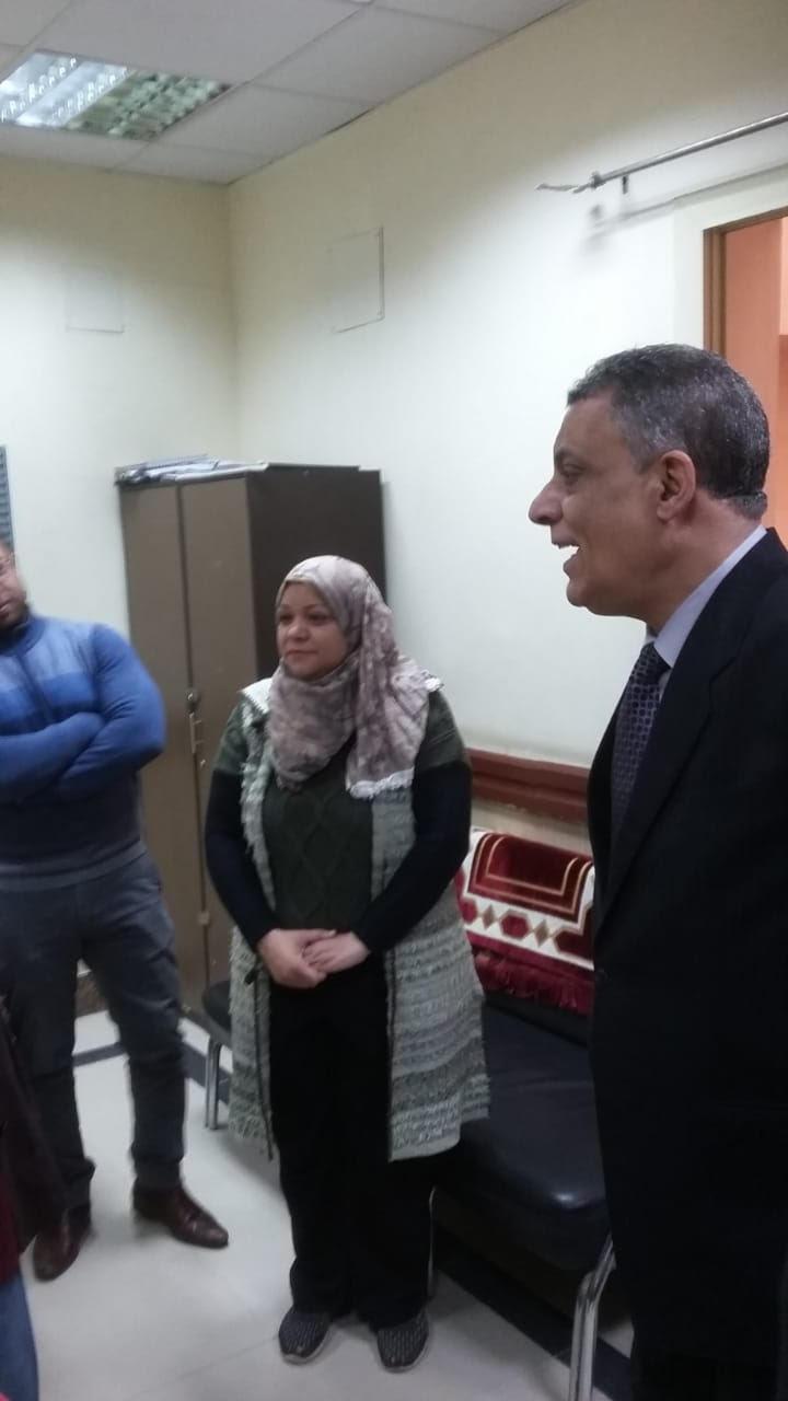جولة مدير فرع التأمين الصحى فى بنى سويف (5)