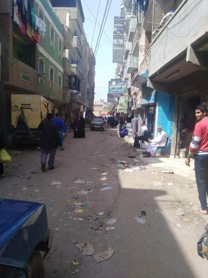 فض سوق أبو حسين بالشرقية (1)