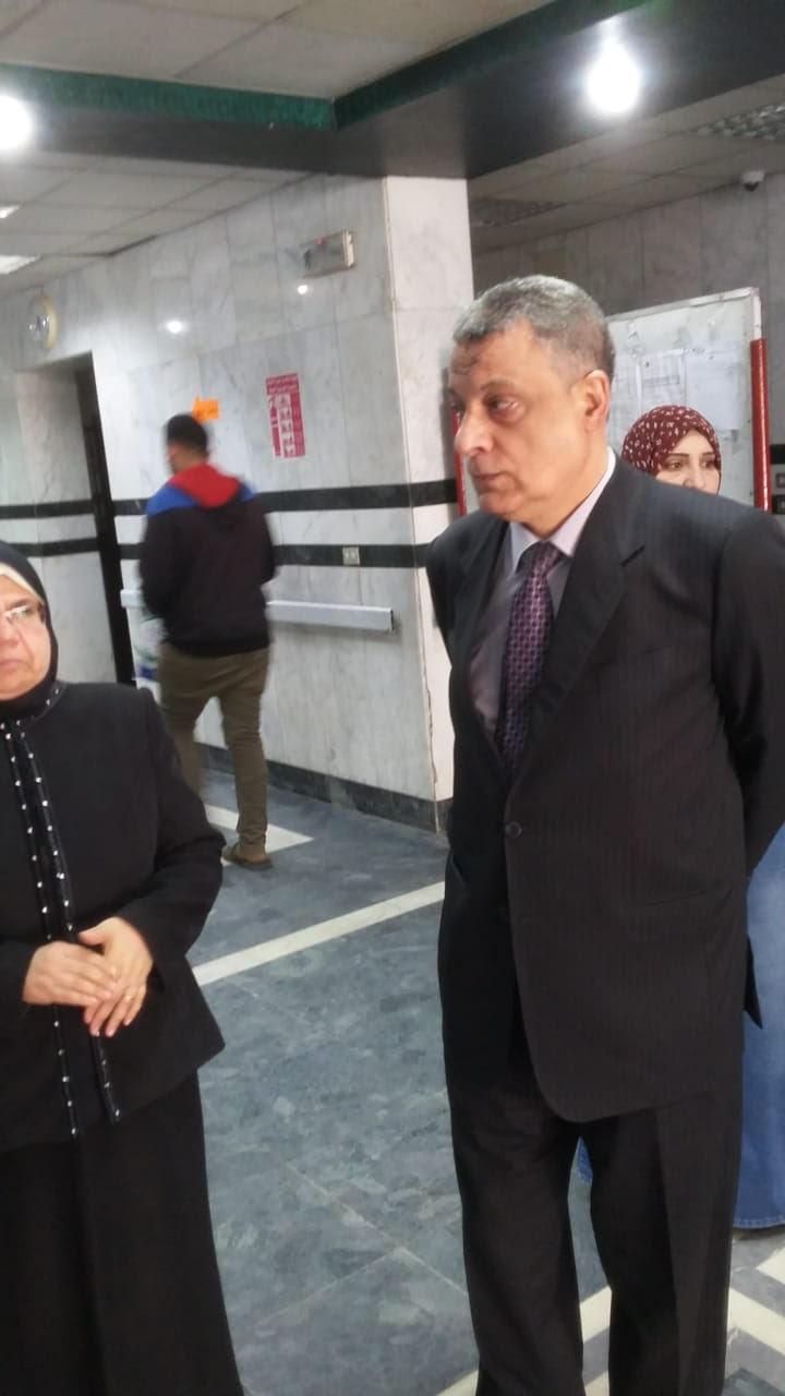 جولة مدير فرع التأمين الصحى فى بنى سويف (2)