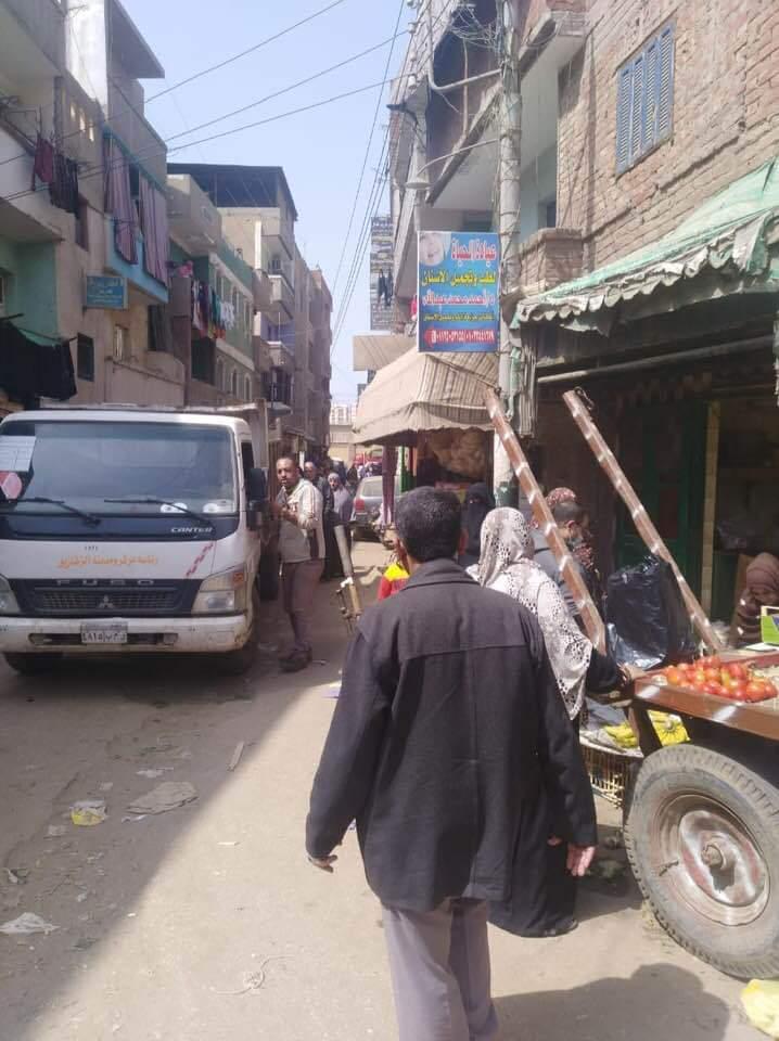 فض سوق أبو حسين بالشرقية (3)
