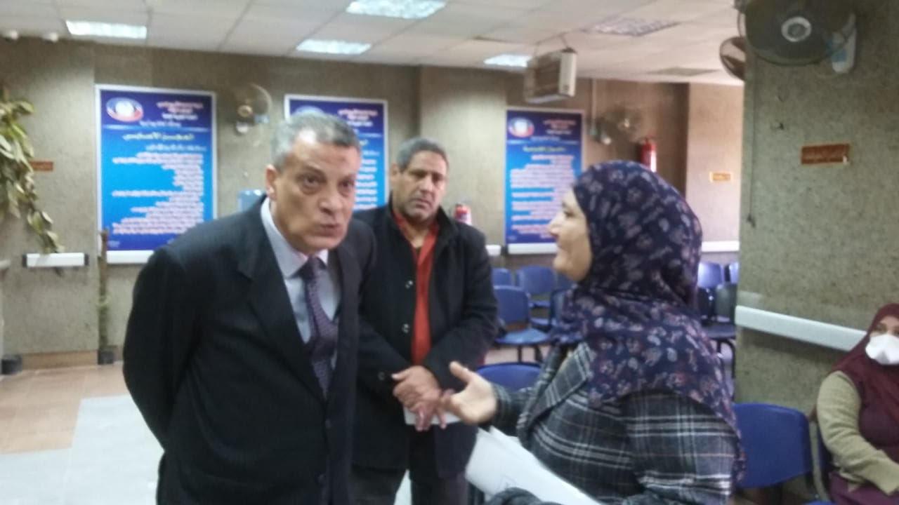 جولة مدير فرع التأمين الصحى فى بنى سويف (1)