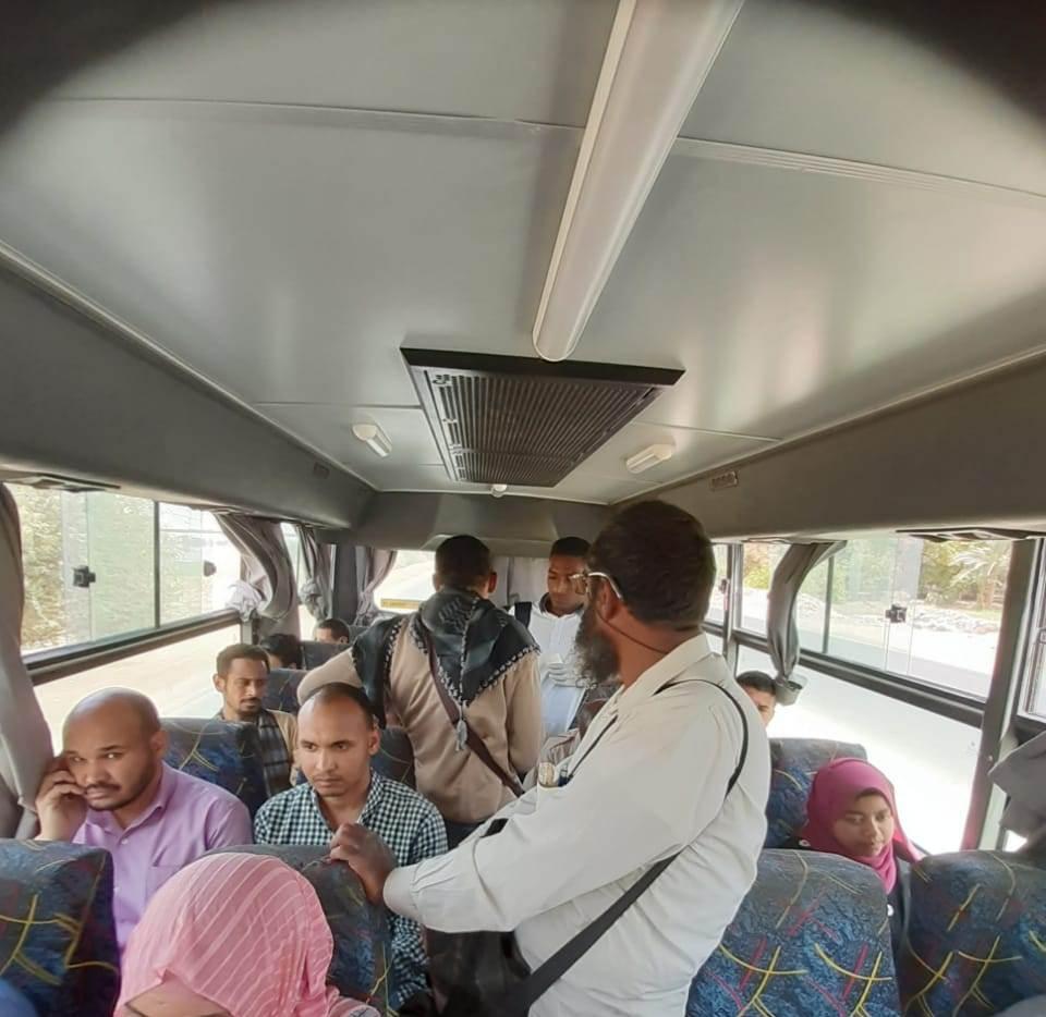 زحام وسائل النقل بمدينة أسوان الجديدة (3)