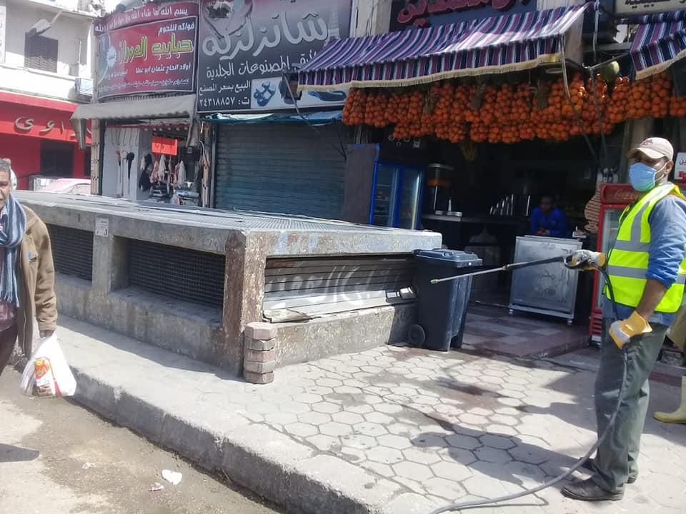 تعقيم شوارع القاهرة (4)