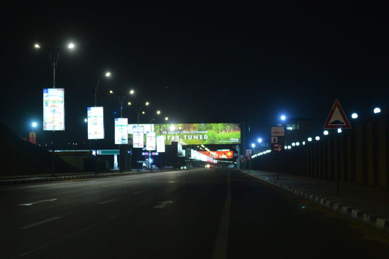 شوارع مصر الجديدة والتجمع بدون مارة