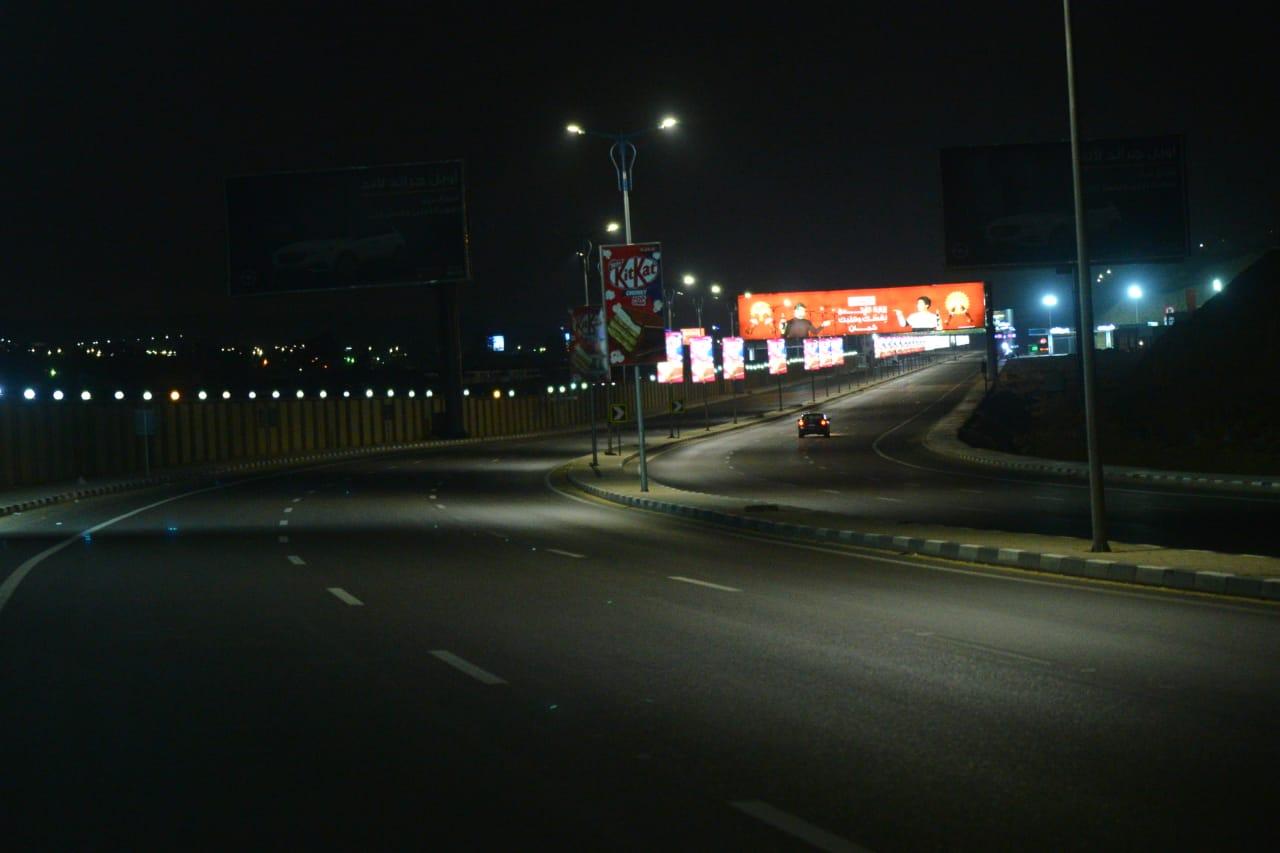 شوارع مصر الجديدة والتجمع خالية (6)