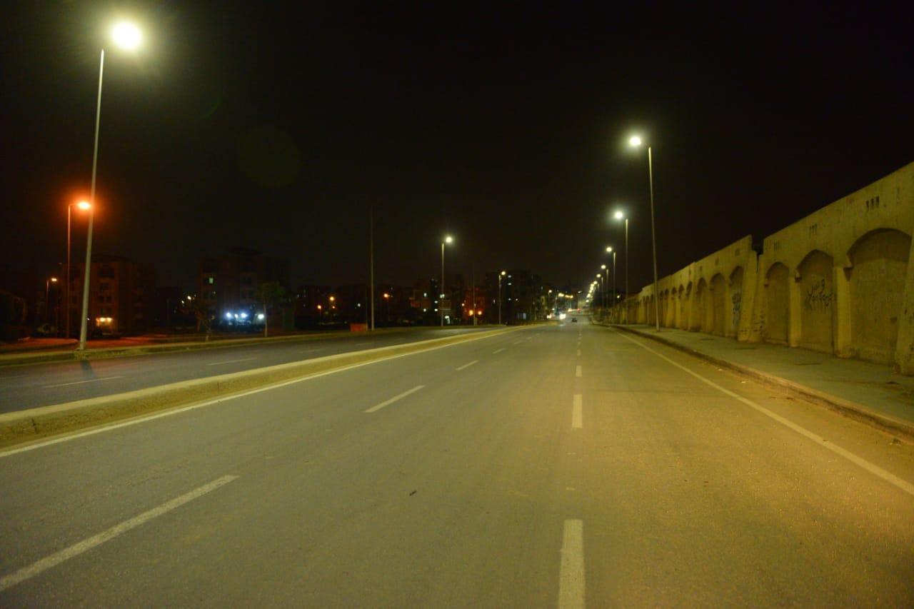 شوارع مصر الجديدة والتجمع خالية (3)