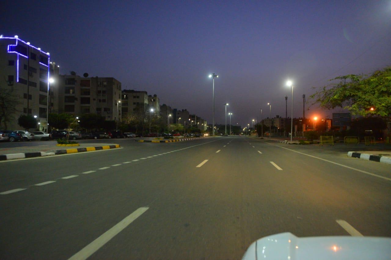 شوارع مصر الجديدة والتجمع خالية (12)